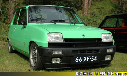Renault 5 Alpine Coupe